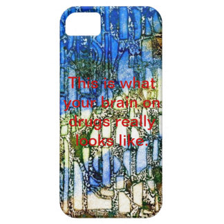 Brain on drugs iPhone 5 case