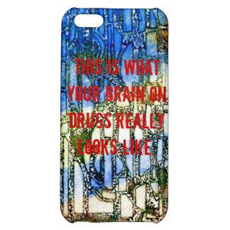 Brain on drugs iPhone 5C case