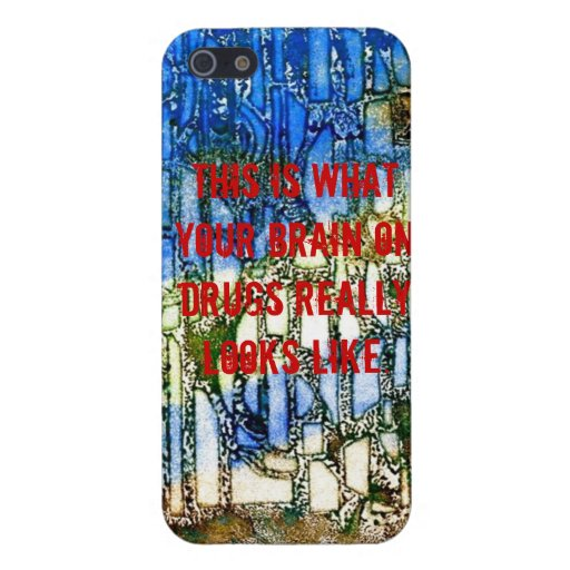 Brain on drugs case for iPhone 5