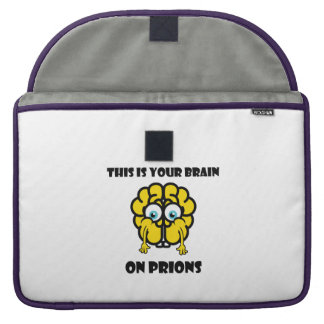 Brain on Prions Sleeve For MacBooks