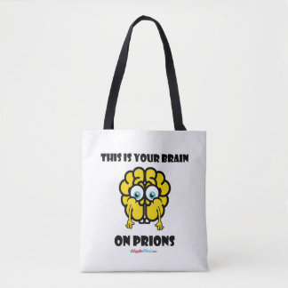 Brain on Prions Tote Bag