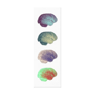 Brain Panel Canvas Gallery Wrapped Canvas