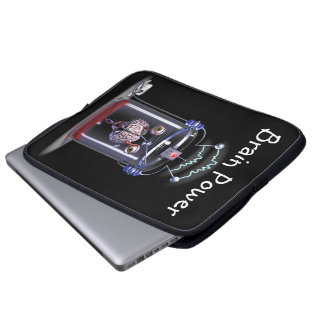 Brain Power Laptop Sleeves