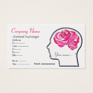 Brain roses business card... business card