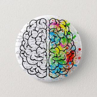 brain series 2 inch round button