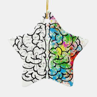 brain series ceramic ornament