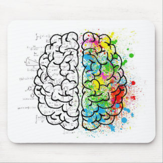 brain series mouse pad