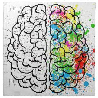brain series napkin