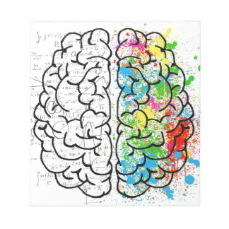 brain series notepad