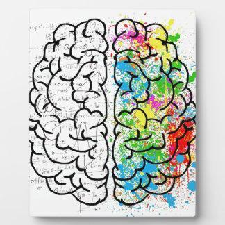 brain series plaque