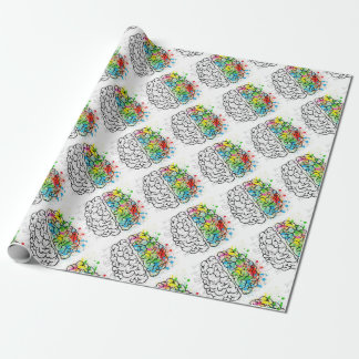 brain series wrapping paper