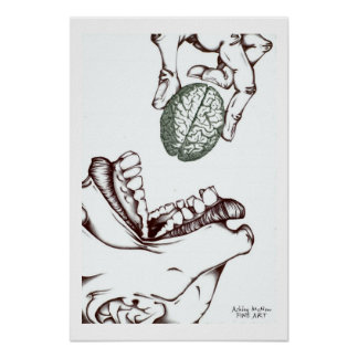 brain snack posters