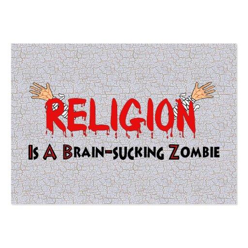 Brain-Sucking Zombie Business Cards