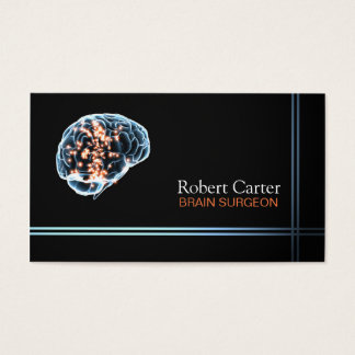Brain Surgeon / Psychologist Doctor Clinic Business Card