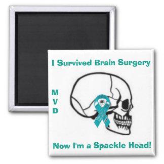 Brain Surgery Awareness Magnet