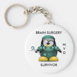 Brain Surgery Survivor Keychain