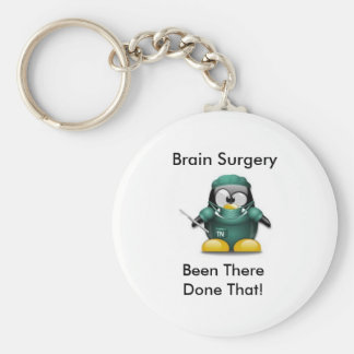 Brain Surgery Survivor KeyChain