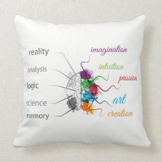 Brain Throw Pillow