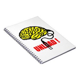 Brain to unload notebooks