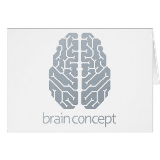 Brain Top Concept Card