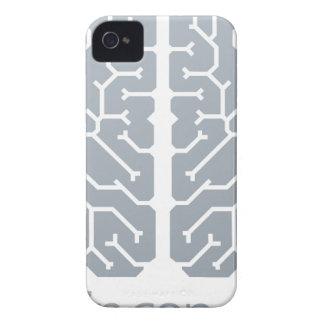 Brain Top Concept iPhone 4 Cases