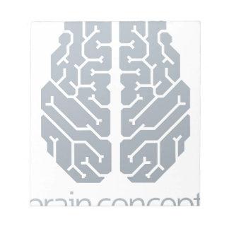 Brain Top Concept Notepads