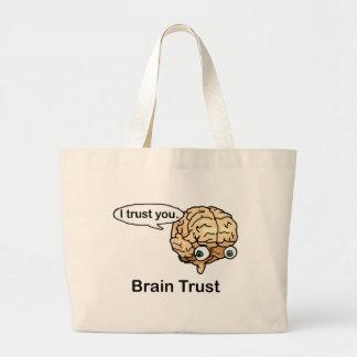 Brain Trust Large Tote Bag