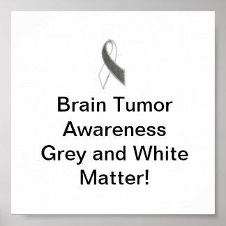 Brain Tumor Awareness small poster