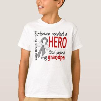 Brain Tumors Heaven Needed a Hero Grandpa T-Shirt