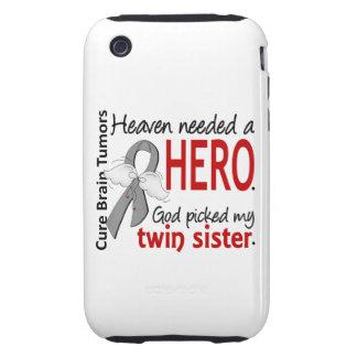 Brain Tumors Heaven Needed a Hero Twin Sister Tough iPhone 3 Cases
