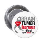 Brain Tumour Awareness Month Pin