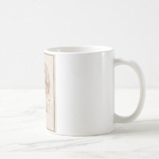 Brain Two - Neuroanatomy Classic White Coffee Mug
