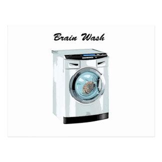 Brain Wash Postcard