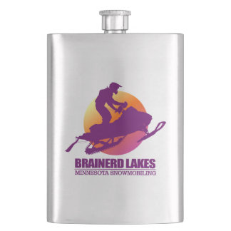 Brainerd Lakes (SM)2 Hip Flask