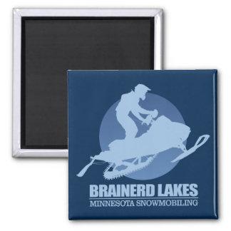 Brainerd Lakes (SM) Square Magnet