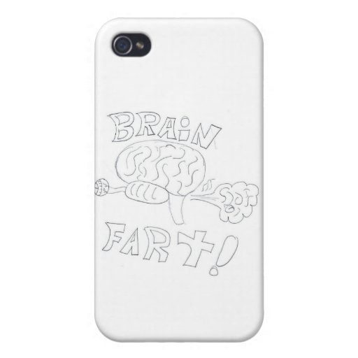 BrainFart! Cases For iPhone 4