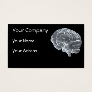 brainiac company business card