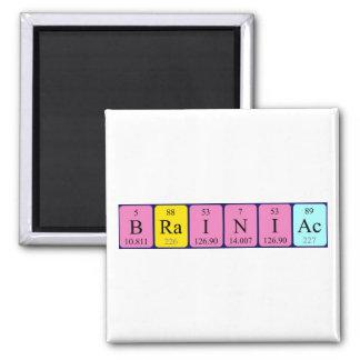 Brainiac periodic table name magnet
