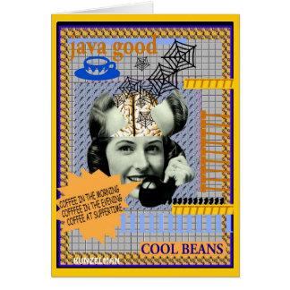 BRAINLADY CARD  COOL BEANS