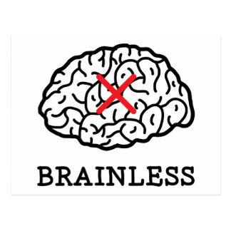 Brainless Postcard