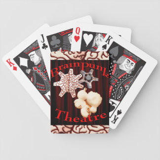 BrainPunk Theatre Cards! Bicycle Playing Cards