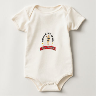 Brains and Beauty sm Baby Bodysuit