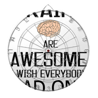 Brains Are Awesome Dart Boards