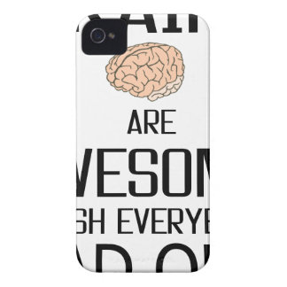 Brains Are Awesome iPhone 4 Case