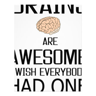 Brains Are Awesome Letterhead