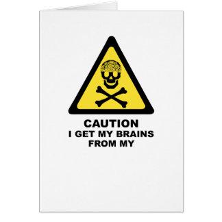 brains card
