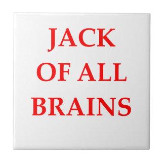 brains ceramic tile