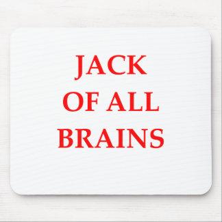 brains mouse pad