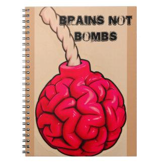 Brains Not Bombs Notebook