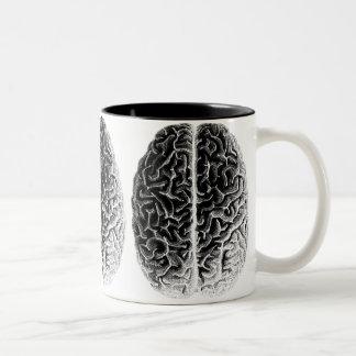 Brains Two-Tone Coffee Mug